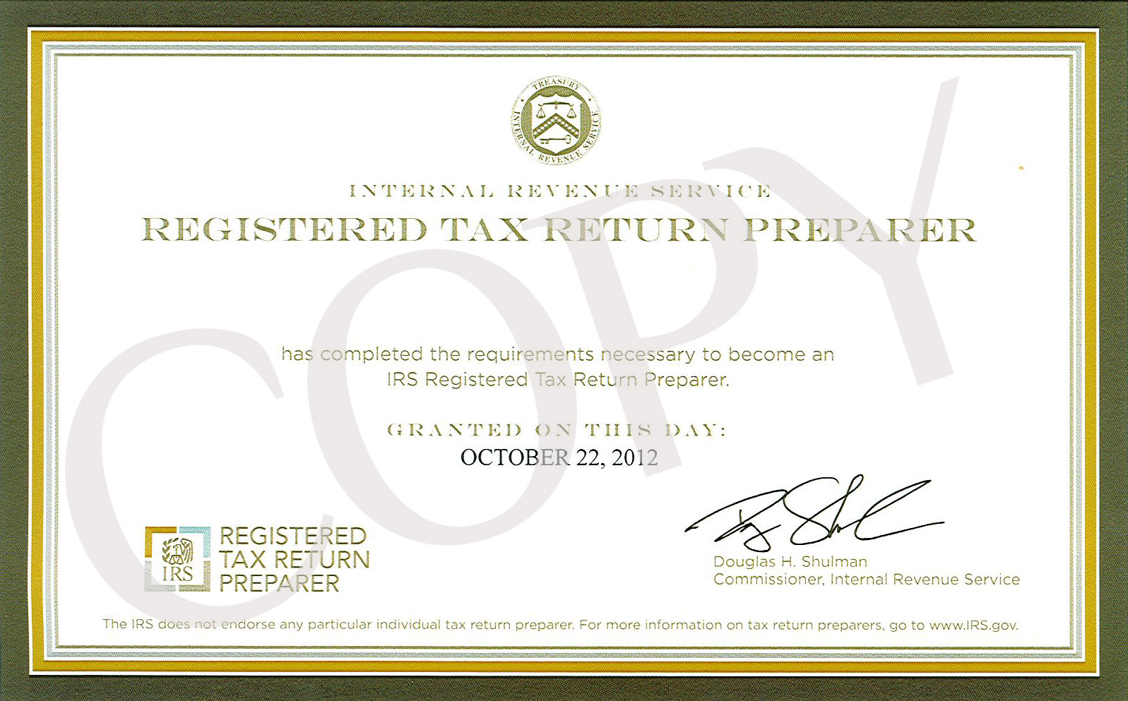 Registered tax return preparer gps financial committed to what is a registered tax return preparer rtrp xflitez Gallery